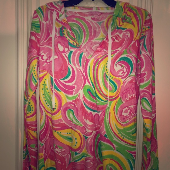 Lilly Pulitzer Tops - Lilly Pulitzer long top/ beach cover up